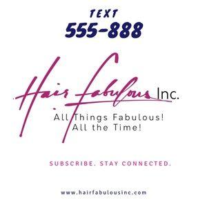 Meet your Posher, Hair Fabulous Inc.